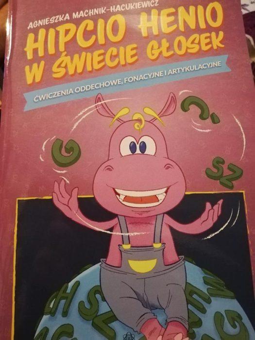 """Recenzja: """"Hipcio Henio w świecie głosek. Ćwiczenia oddechowe, fonacyjne i artykulacyjnego"""""""