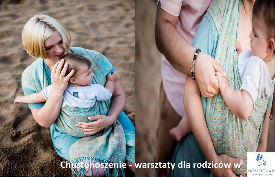 Chustonoszenie - warsztaty dla rodziców maluszków