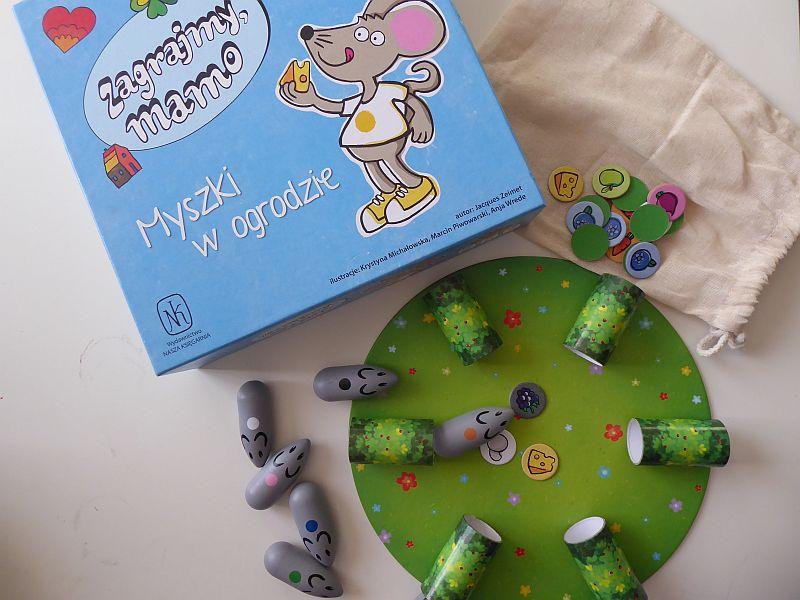 """Recenzja gry """"Zagrajmy, mamo. Myszki w ogrodzie"""""""