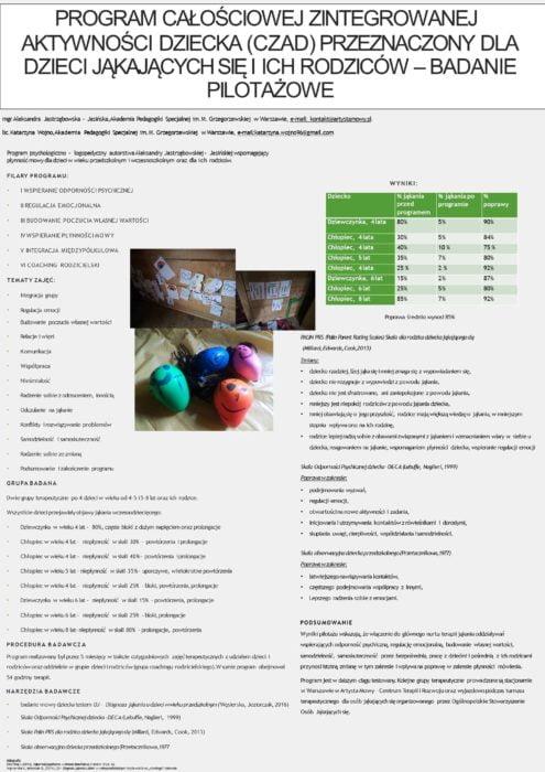 Program Całościowej Zintegrowanej Aktywności Dziecka (CZAD)