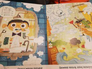 """Dzisiaj na zajęciach dzieci poznały """"Melę i Kostka, czyli zwykły dzień niezwykłych bliźniaków"""" - pięknie ilustrowana książkę od wydawnictwa Kapitan Nauka."""
