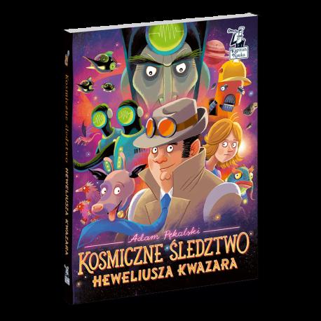 """Recenzja: """"Kosmiczne Śledztwo Heweliusza Kwazara"""""""