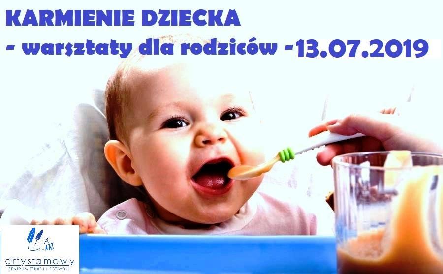 Karmienie dziecka - warsztaty dla rodziców (14.09.2019)