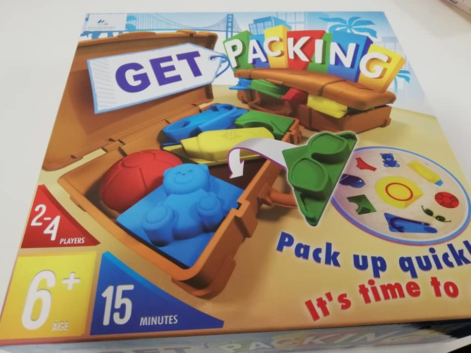 "Recenzja gry ""Get packing"""