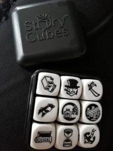 """Recenzja: Story cubes """"Batman"""""""
