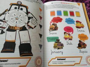 """Recenzja: """"Robot Trains. Uczę się pisać"""""""
