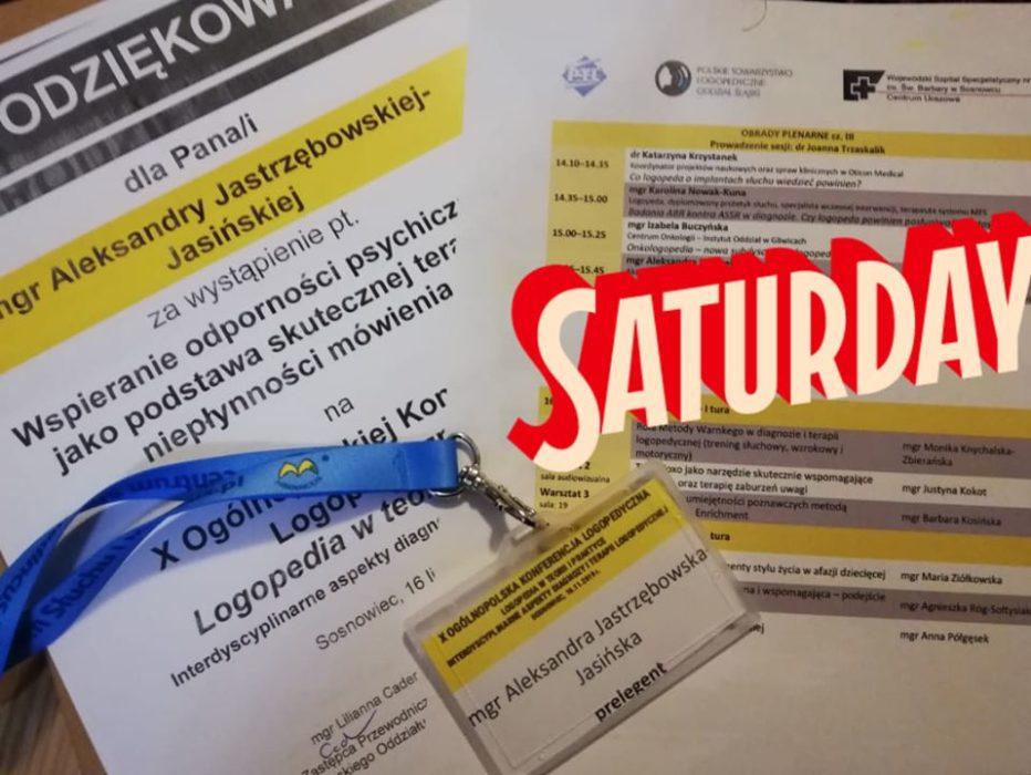 Program CZAD na X Ogólnopolskiej Konferencji Logopedii w Sosnowcu