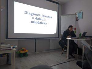 """Wspomnienia ze szkolenia """"Diagnoza i terapia jąkania u dzieci i młodzieży - praktyczny warsztat terapeuty jąkania"""""""
