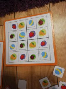 """Recenzja: """"Sudoku 2x2 owoce"""""""