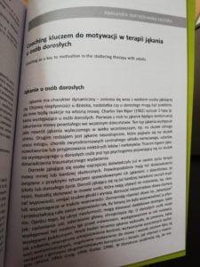 """""""Zaburzenia płynności mowy - teoria i praktyka"""" z artykułem Aleksandry"""