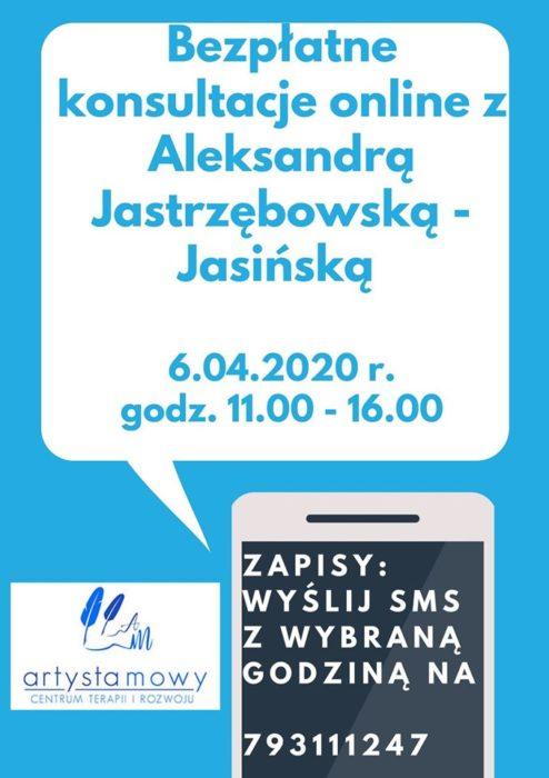 Bezpłatne konsultacje telefoniczne - 6 kwietnia