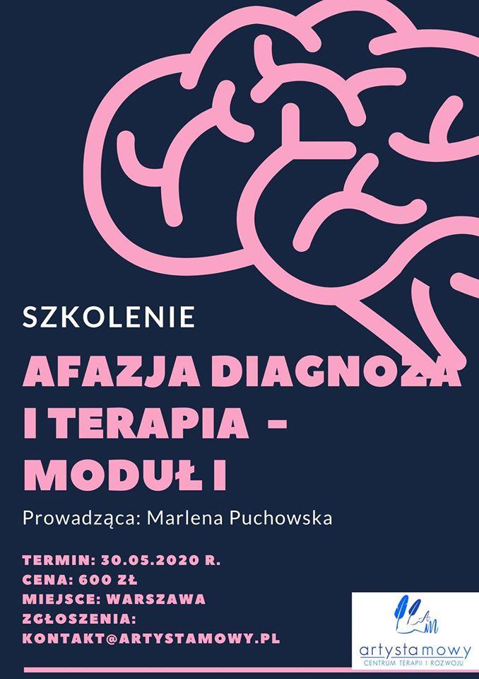 Szkolenie Afazja - Diagnoza i terapia - Moduł I