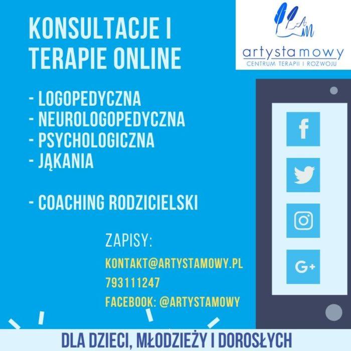 Dostępne konsultacje online