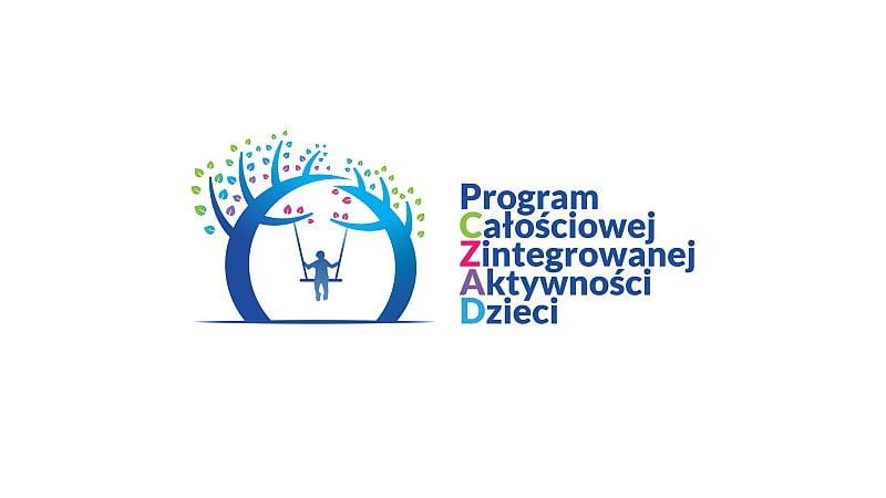 Logo Programu Całościowej Zintegrowanej Aktywności Dzieci CZAD