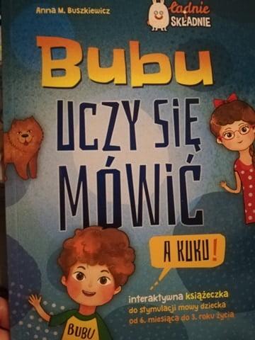 """Recenzja: """"Bubu uczy się mówić"""""""