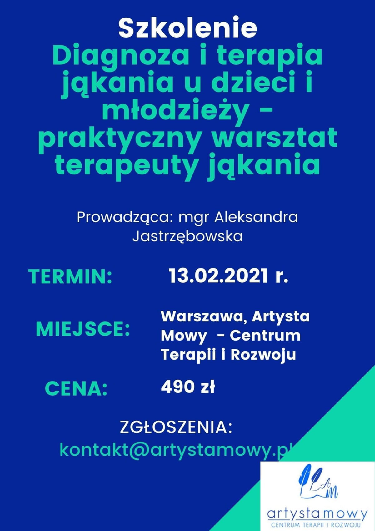 Diagnoza i terapia jąkania u dzieci i młodzieży (13.02.2021)