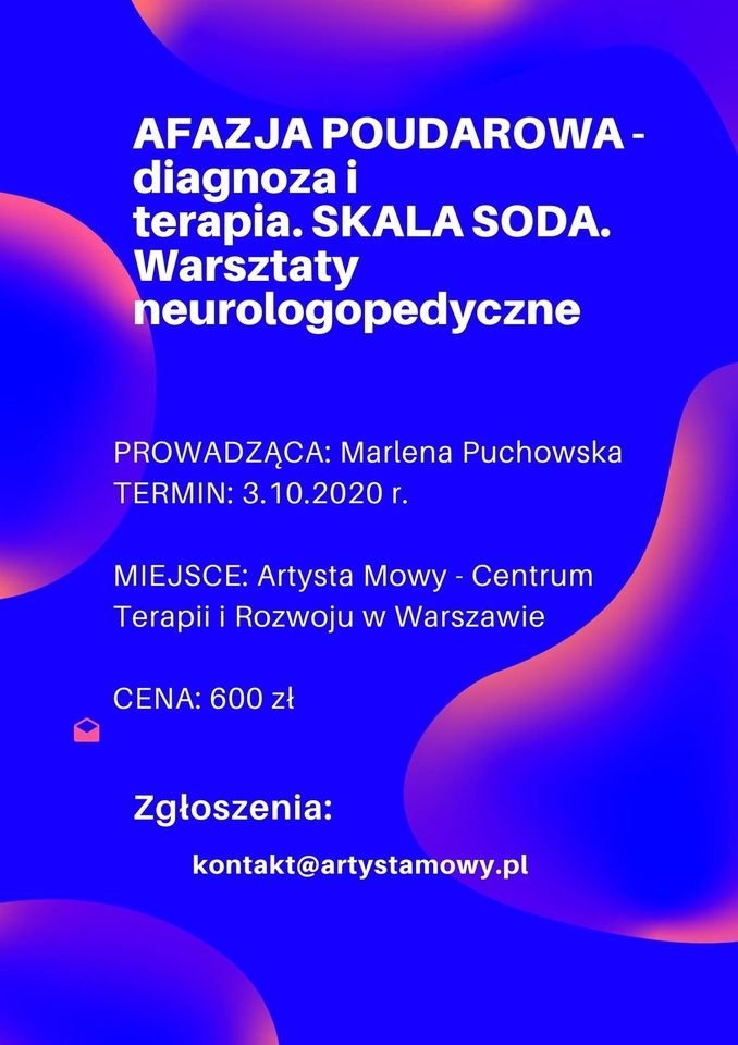 Szkolenie Afazja Diagnoza i terapia Moduł I