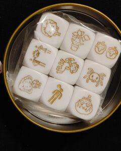 Recenzja Story cubes Harrego Pottera (2)